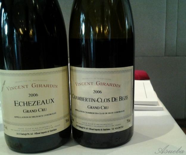 VG 06 Echezeaux n 06 Chambertin Clos De Beze