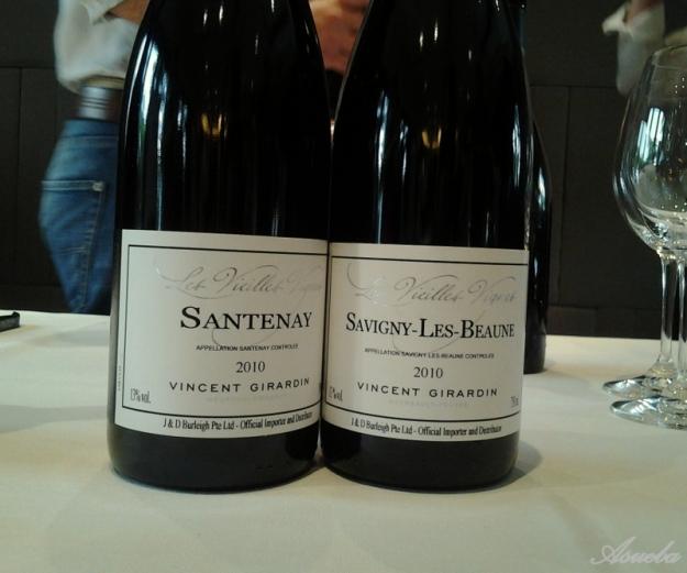 VG Les Vieiles Vigne 10 Santenay n Savigny Les Beaune